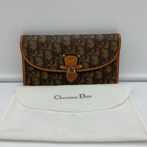 💯Auth Christian Dior Wallet